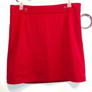 LOFT - Red skirt